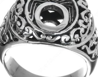 bali art 925 sterling silver sz 7 ring