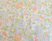 liberty of london - betsy - special limited edition print - fat quarter - salmon pink and blue