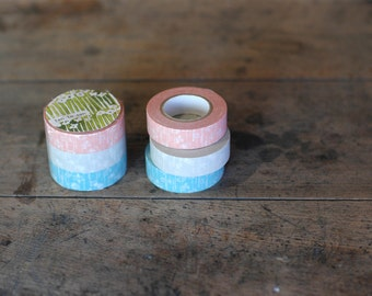 japanese masking tape - single piece - small flowers