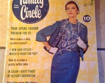February 1962 Family Circle Magazine