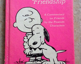 All About Friendship Peanuts Book by Hallmark
