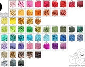 Wholesale Zippers- Your Choice of 500 YKK Brand 9 or 10 Inch Zippers- Mix and Match- choose from 65 colors