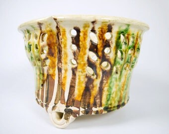 Betty Woodman Ceramic Basket 1970's American Studio Pottery