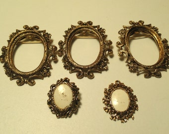 Brooch and pendant bases