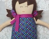 Dolls, Handmade Doll,  Rag Doll, Soft Doll, Baby Doll, Christmas, Toys, Free Shipping In The U.S.