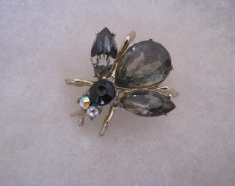 Vintage Bee Fly Bug Insect Pin