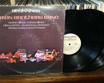 The Allman Brothers Band BeginningsVintage Vinyl Double Album