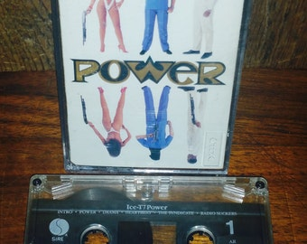 Ice T Power Vintage Cassette Tape