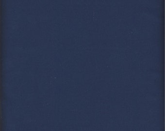 Price Reduced!  Navy Hampton Twill (001-1243) - by 1/2 yard - Robert Kaufman