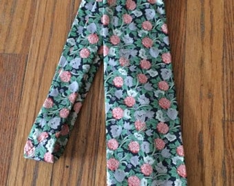 Vintage Liberty of London Strawberry Fields Cotton Tie