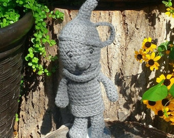 Crochet Tin Man from Wizard of Oz
