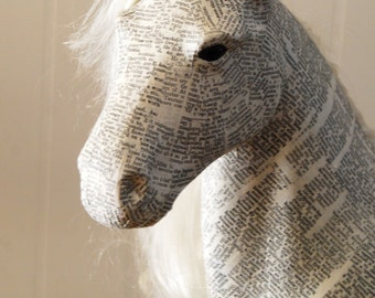 Hand Crafted Horse, Statement Piece, Home Decor