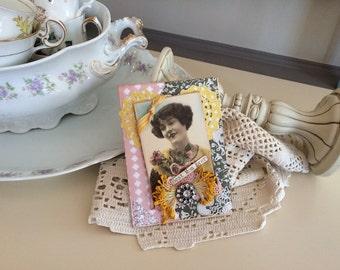 Birthday Card Mom - Victorian Mom Card - Old fashioned Card Mom