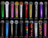 Mic Covers Sparkle Microphone Cover for STANDARD CORDED/WIRED microphones