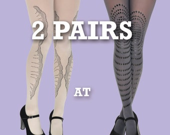 Sale! Save 10% off on 2 pairs, opaque or sheer tights of your choice! gift ideas, gift for her