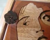 Flower girl bandsaw cut image box