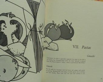 The Wonderful Food Of Provence by Escudier and Fuller  first edition COOKBOOK signed by illustrator Ron Becker  1968
