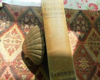 Heath's FRENCH English Dictionary 1905