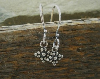 Tiny Dotted Earrings