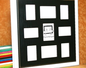 collage picture frame 9 opening frame 6 4x6 and 3 5x7 multi photo frame large wall collage multiple wedding frame family collage