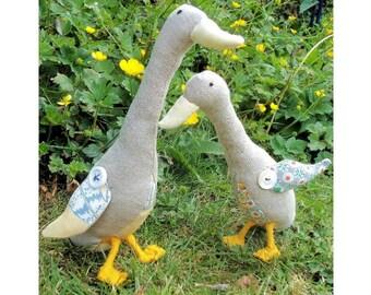 Little Geese Softies pdf Pattern