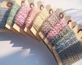 Baker's Twine Sampler 250 Yards // 10 Assorted Colors