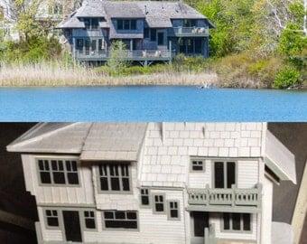 A Custom Bird House of Home in Massachusetts