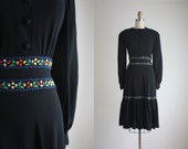 1940s peasant dress