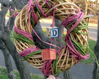 Shred-A-Wreath--chew toy for gerbils and other small animals