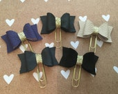Genuine  leather  planner clips