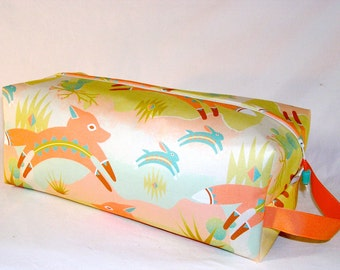 SPECIAL PRICE - Fox and Rabbit Chase Sweater Bag - Premium Fabric