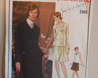 Vogue Paris Original Sewing Pattern 2393
