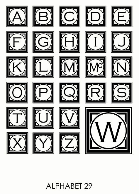 letters in the alphabet alphabet svg files framed monogram alphabet monogram svg 23358 | il fullxfull.1043985036 ot7q