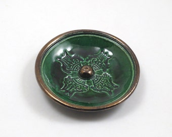 Vajra or Double Dorje Incense Burner 4 1/4 Inch