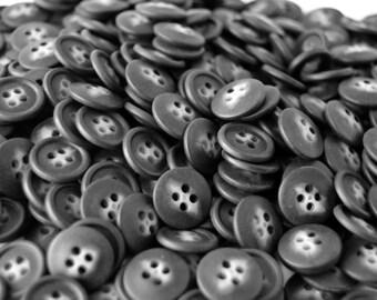 Black Splash Buttons - 5/8 inch - YOU PICK QUANTITY Set 50 thru 800
