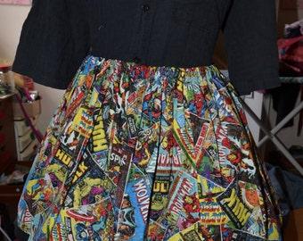 Womens CUSTOM Marvel Skirt