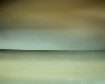 minimalist sea, large scale photo, blue, zen photo, light blue, large canvas giclee, ethereal photo, light green, ready to hang canvas, art