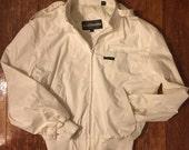 White Members Only Jacket Windbreaker 80s