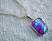 Vintage Jewelry Sterling Pendant Necklace Designer Charles Albert Wearable Art