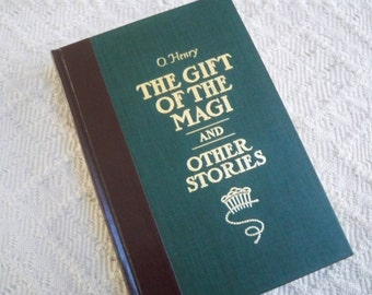 "Vintage Book Fiction ""The Gift of the Magi and Other Stories"" O'Henry"