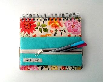 Robin's Egg Pencil Case, Pencil Pouch, Gadget Case, handbag