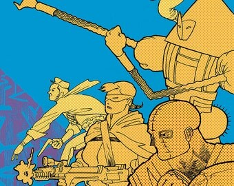 COPRA 25,  Double Size Anniversary Issue, Limited Edition Comic Book Series