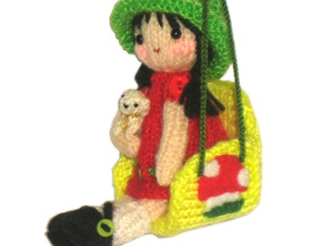 Doll in Swing Pdf Email Knit PATTERN