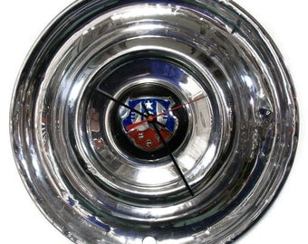 "1950 - 1953 Oldsmobile ""88"" Hubcap Clock - Olds Wall Clock - Retro Car Decor - 1951 1952 - Olds ""98"" ""76"""