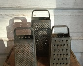 Vintage Metal Graters Instant Collection