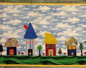 Gnome Homes Wallhanging #3