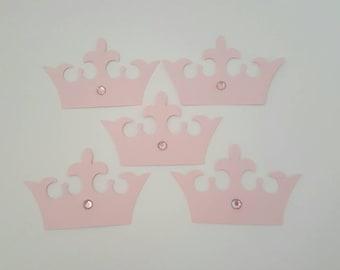 5 piece crown cricut cutouts. 2 inches
