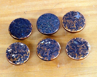 Hammered Copper Cabinet Knobs Drawer Pulls Craft Supply