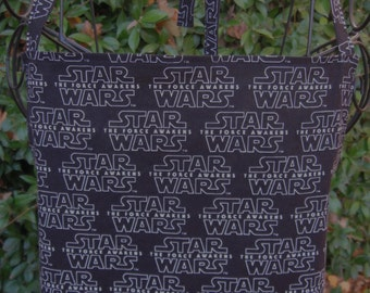 Force Awakens, BBQ Apron, Star Wars apron, pockets, black apron
