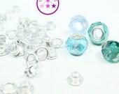 Metal Grommet Jewellery Bead Eyelet  (5 mm)